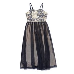 c032f090bc8 Girls 7-16 Speechless Rose Bodice Tulle Maxi Dress