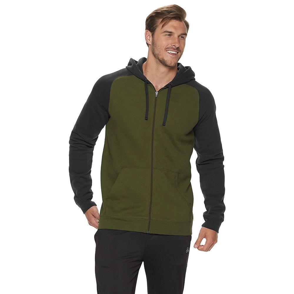 Big & Tall Tek Gear® Ultra Soft Fleece Full-Zip Hoodie