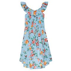 Girls 7-16 Speechless Smocked Floral Dress
