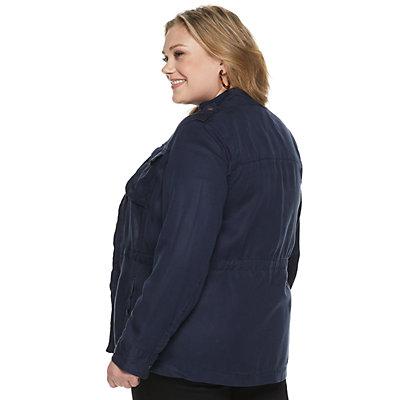 NEW! Plus Size EVRI Utility Jacket