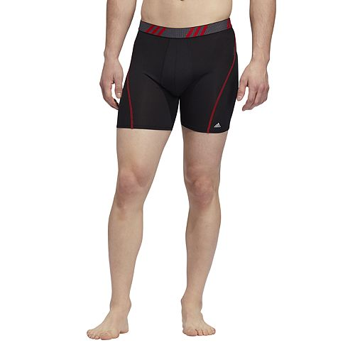 Men's adidas 2-pack climacool Fitted Micro Mesh Performance Boxer Briefs