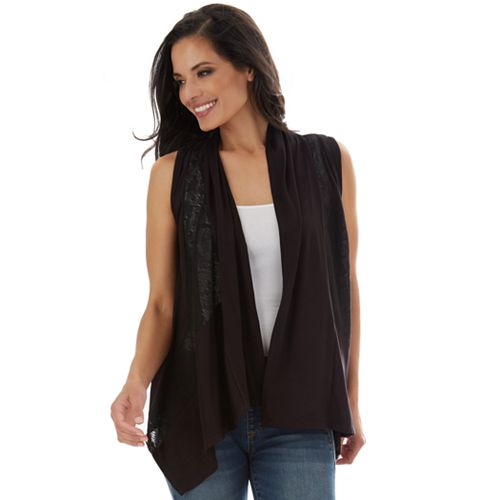 womens-apt-9-solid-lace-cozy-vest by apt-9