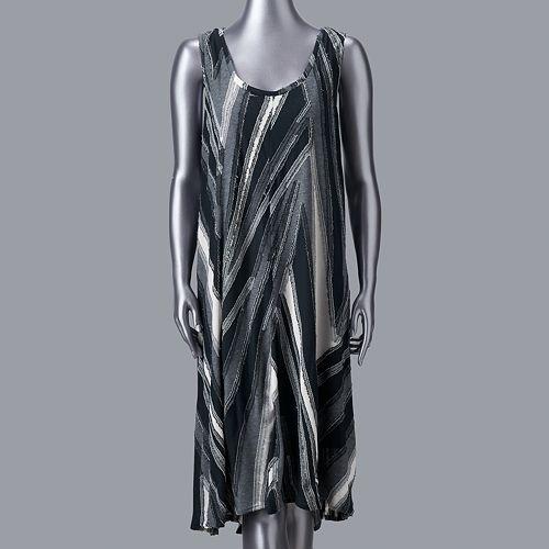 Women's Simply Vera Vera Wang High-Low Tank Dress