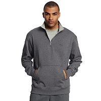 Deals on Champion Fleece Powerblend Quarter-Zip Mens Pullover