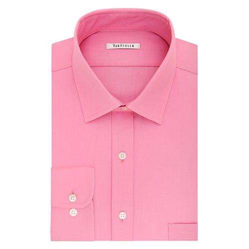 85cf0e863d4 Men s Van Heusen Flex Collar Regular-Fit Pincord Dress Shirt