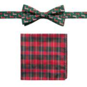 Men's Bow Tie & Pocket Square Set