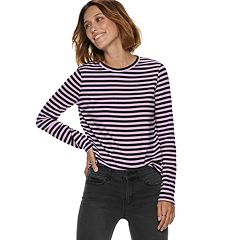 Women's POPSUGAR Print Long-Sleeve Tee