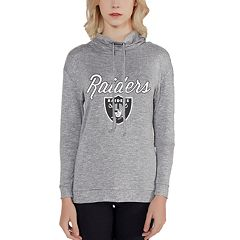 Women's Oakland Raiders Cowlneck Top