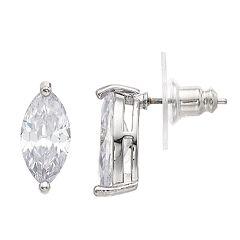 Simply Vera Vera Wang Simulated Stone Oval Stud Earrings