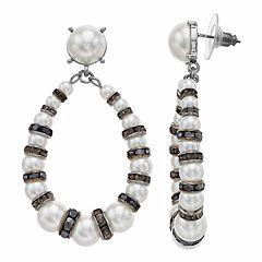 Simply Vera Vera Wang Pearl Link Drop Earrings