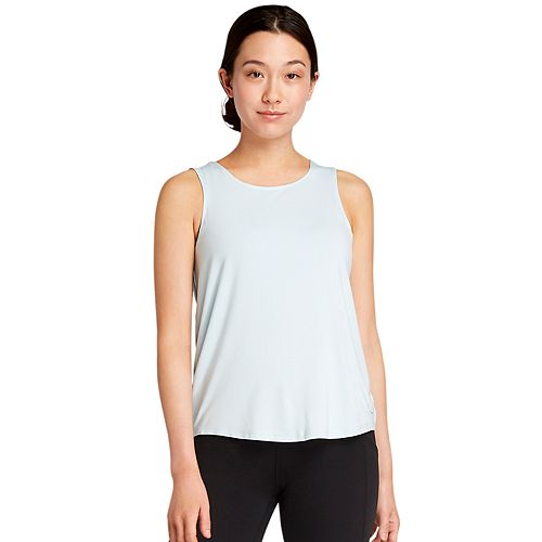 Womens' Danskin Twist Back Tank Top