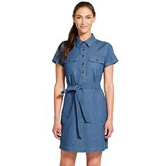 Women's IZOD Utility Shirt Dress
