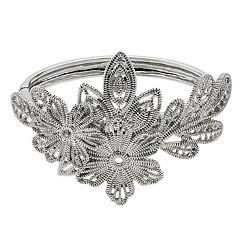 Simply Vera Vera Wang Textured Flower Bracelet