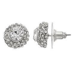 Simply Vera Vera Wang Halo Stud Earrings