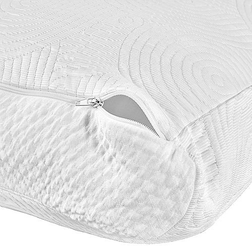 Tempur-Pedic Cool Luxury Contour Zippered Pillow Protector