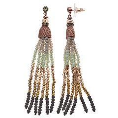 cb8a8df04f1ecd Simply Vera Vera Wang Beaded Tassel Drop Earrings