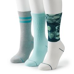 Women's Under Armour 3-PK. Assorted Crew Socks