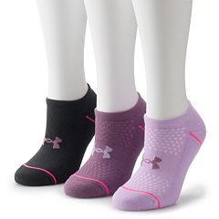 Women's Under Armour Phenom 3-PK. No Show Socks