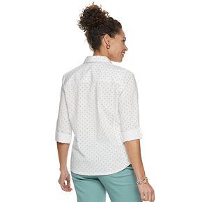Women's Cathy Daniels Print Button Front Shirt