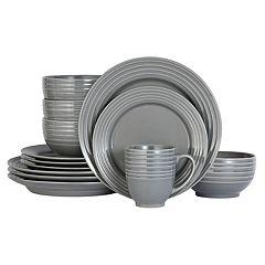 Food Network™ Valencia Gray 16-pc. Dinnerware Set