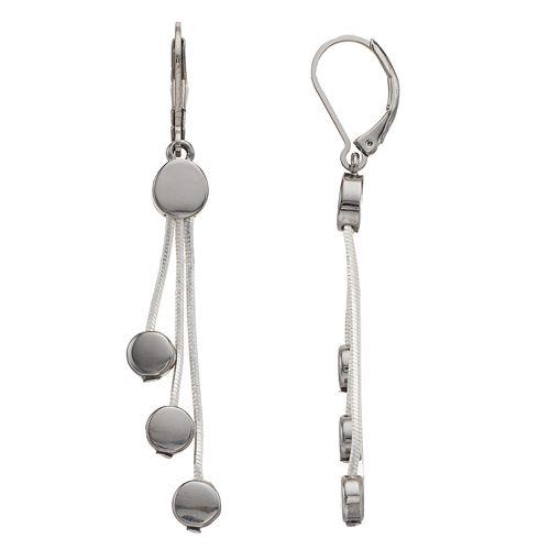 Dana Buchman Linear Drop Earrings