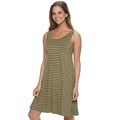 dfd14c75d18ee Maternity a:glow Snap-Shoulder Nursing Swing Dress