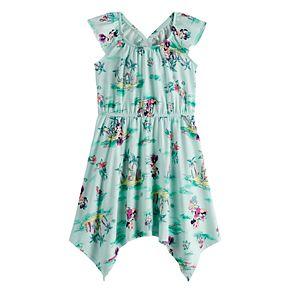 Disney's Minnie Mouse Girls 4-12 Handkerchief Hem Dress by Jumping Beans®