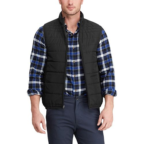 Big & Tall Chaps Quilted Packable Vest
