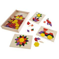 Hey! Play! Kids Tangrams Toy