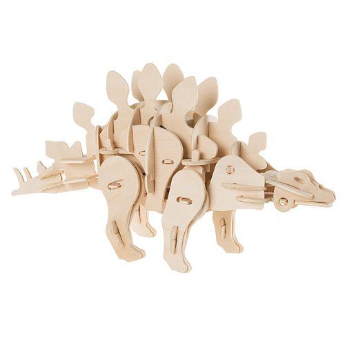 Hey! Play! 3D Wooden Stegosaurus Puzzle