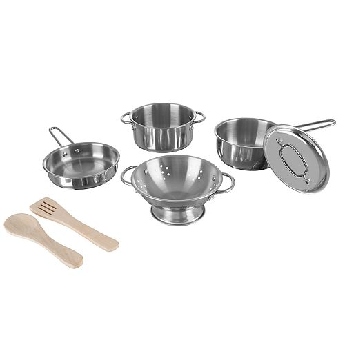 Hey! Play! Kids Pots and Pans Set