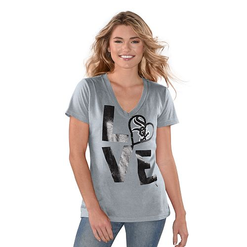 "Women's Game On Chicago White Sox ""LOVE"" Graphic Tee"