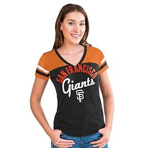 Women's Big League San Francisco Giants Burnout Graphic Tee