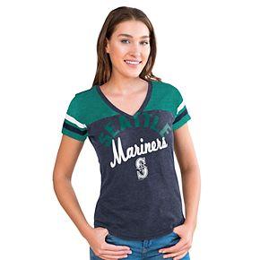 Women's Big League Seattle Mariners Burnout Graphic Tee