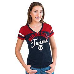 Women's Big League Minnesota Twins Burnout Graphic Tee