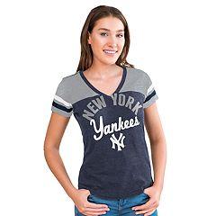 b768ea55c0109 Women s Big League New York Yankees Burnout Graphic Tee
