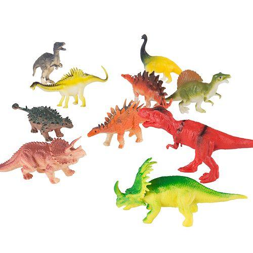 Hey! Play! 10-Pack  Dinosaur Figure Set