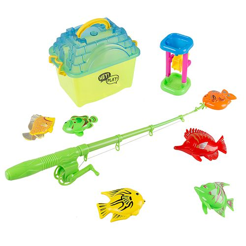Hey! Play! Kids Toy Fishing Set