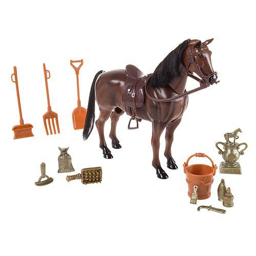 Hey! Play! Toy Horse Set