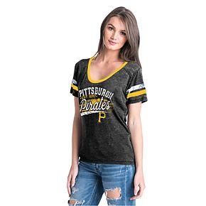 Women's New Era Pittsburgh Pirates Jersey Tee