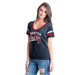 Women's New Era Boston Red Sox Jersey Tee