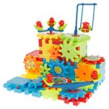 Hey! Play! 81-Piece Interlocking Gear Building Set