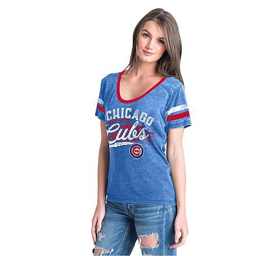 Women's New Era Chicago Cubs Jersey Tee
