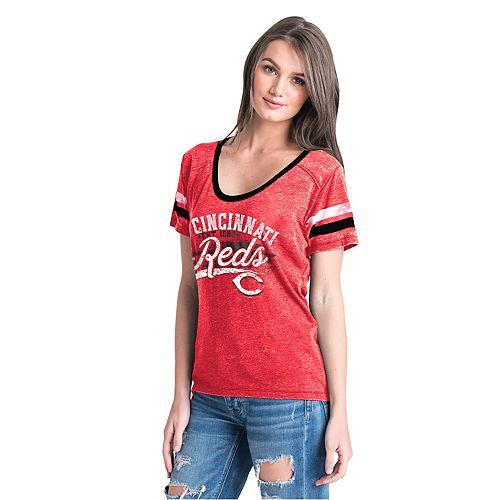 Women's New Era Cincinnati Reds Jersey Tee