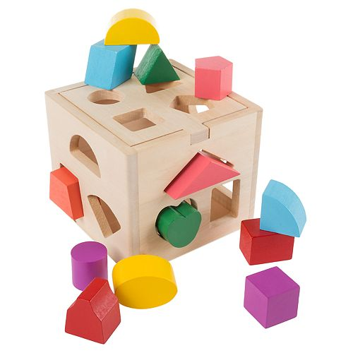 Hey! Play! Wooden Shape Sorter