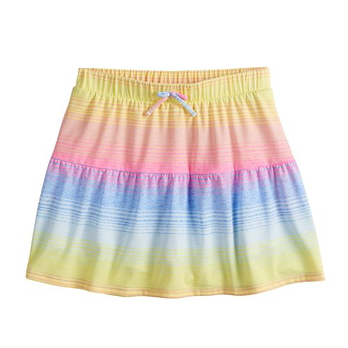 Girls 7-16 SO® Ruffle Skort