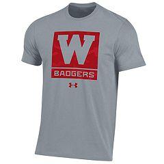 Boys 8-20 Under Armour Wisconsin Badgers Logo Tee