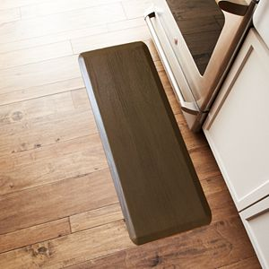Sonoma Goods For Life® Ultimate Comfort Woodgrain Cushioned Kitchen Mat