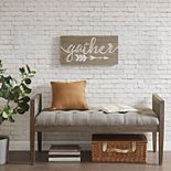 "Madison Park ""Gather"" Wood Plank Wall Decor"