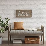 "Madison Park ""Home"" Wood Plank Wall Decor"